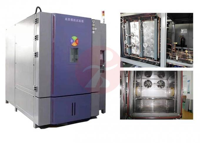 Low Pressure Altitude Simulation Chamber , Temperature Test Chamber Easy Maintenance 0
