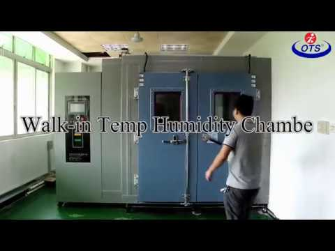 Easy Operated Environmental Test Chamber 20% - 98% RH Humidity Control