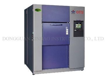 China Air / Water Cooling Thermal Shock Chamber , Temperature And Humidity Chamber Air To Air Testing supplier