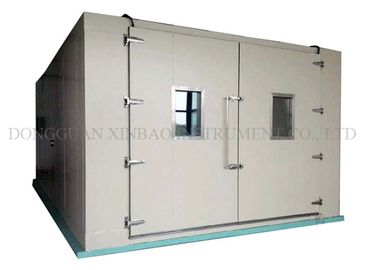 Walk In Environmental Test Chamber Easy Installation Entire Data Recorder Function