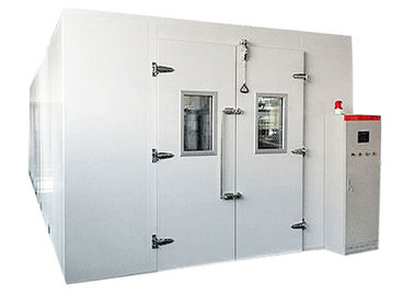 China Large Size Walk In Environmental Chamber , Climatic Test Chamber Temp Control -40℃ To 80℃ supplier