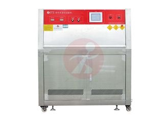 China Compact UV Accelerated Weathering Tester , Environmental Testing Equipment SS Body supplier