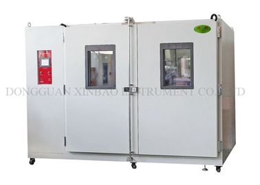 China Multifunctional Walk In Test Chamber SUS304 Inner Chamber Materials Tear Resistance Walk In Stability Chamber supplier