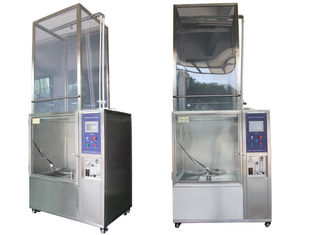Rain Spray Lab Test Chamber IPX1 - IPX9K Waterproof Rating With Water Recycling