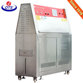 China Sunlight Resistant UV Weathering Test Chamber 70mm Distance Between Lamps/uv lamp testing equipment factory