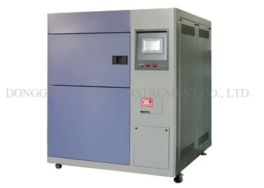 Stainless Steel Plate Thermal Shock Chamber Testing Machine Touch Screen Controller Thermal Shock Chambers