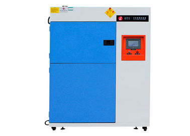 China Impact Cycling Thermal Shock Chamber Programmable LCD Touch Screen Controller factory