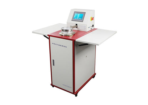 Nonwoven 0.112000mm/S 14000Pa Fabric Air Permeability Tester