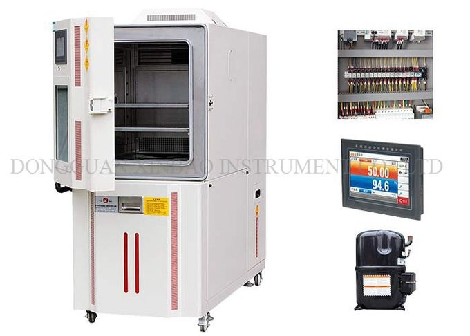 Benchtop Design Temperature Test Chamber Separated Waterway Device And Circuit Device Humidity Temperature Test Chamber
