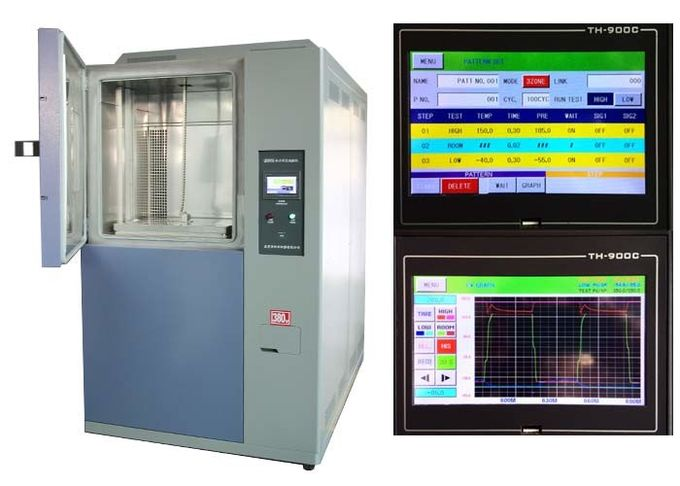 Thermal Shock Impact Thermal Shock Test Chamber For Plastic And Rubber Material Thermal Shock Test Machine